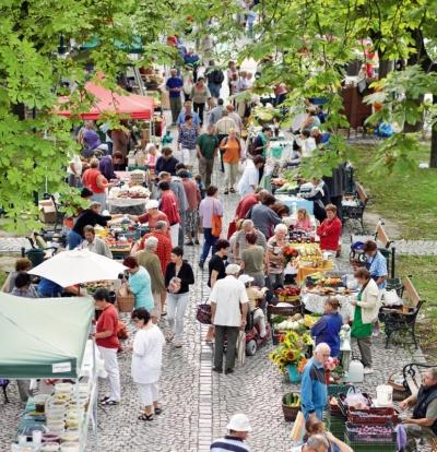 Nagymaros, Marktplatz